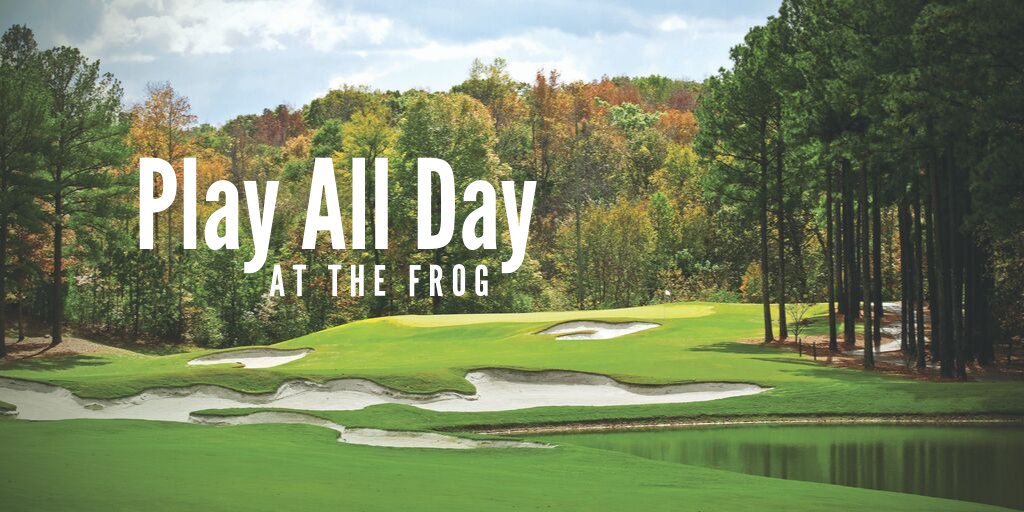 Play All Day Golf Special at The Frog